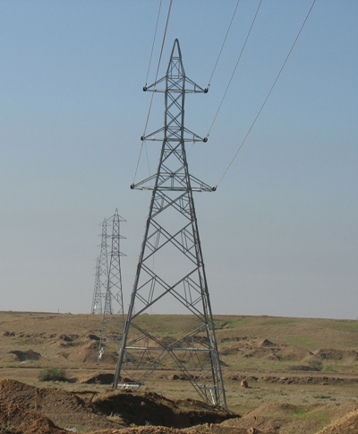 Power supply to processing oil field of Sarvestan and Saadatabad