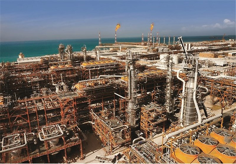 Gas Extraction from South Pars Reached 430 million cubic meters per day